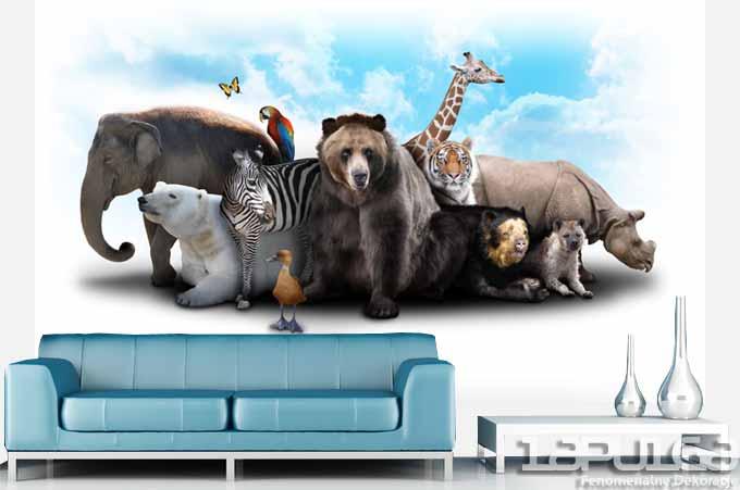 fototapeta zwierzęta